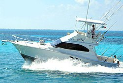Cancun Fishing - Luxury Boat