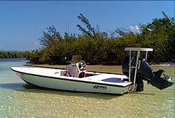 Cancun Fishing - Bonefishing Boat